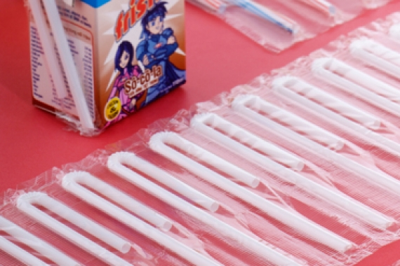 U-Shaped, I-Shaped Straws