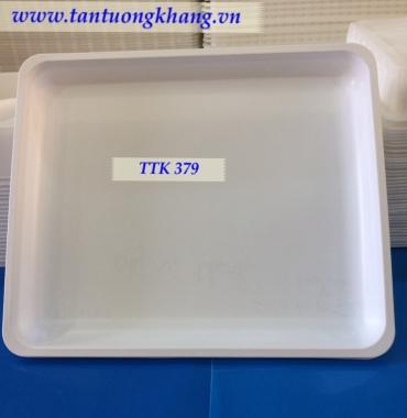 Khay nhựa đựng hải sản mực, cá  TTK 379
