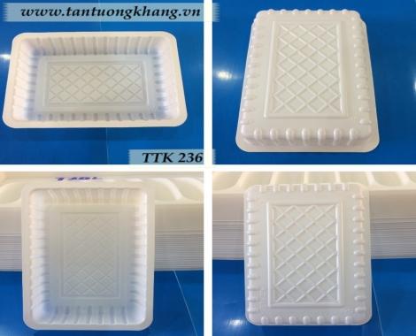 Khay nhựa đựng bánh - TTK 236