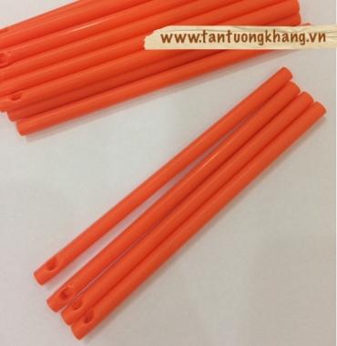 ống que kẹo màu cam