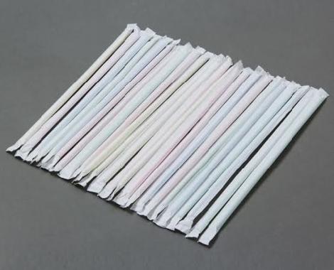 Ống hút thẳng bọc màng giấy