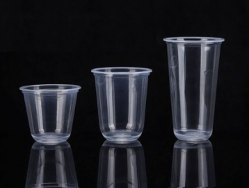 Plastic Cup & Lid